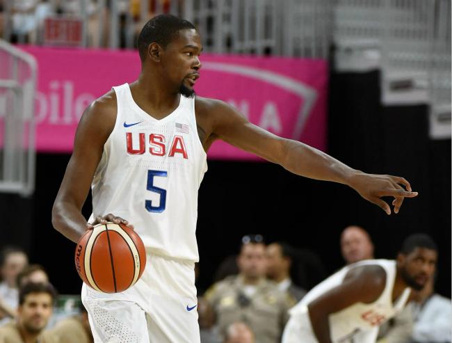 里约奥运年收入最高的运动员,美国男篮6人上榜杜兰特力压小德登顶