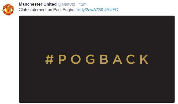 官宣!博格巴正式加盟曼联,1.2亿欧转会费创足坛新纪录