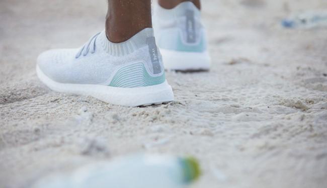 阿迪达斯这款新跑鞋的前世,是马尔代夫海底捞出的一个塑料瓶