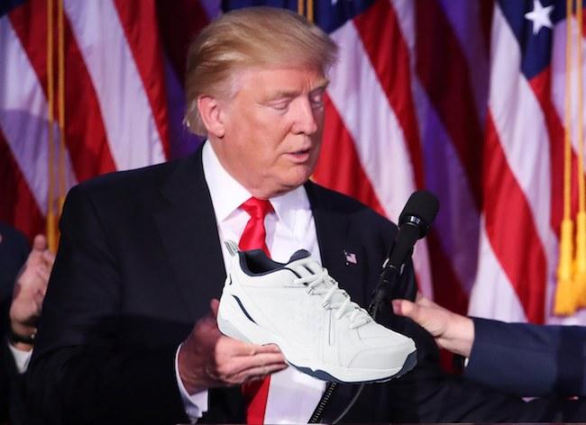 美国人脚上的运动鞋能告诉你,特朗普的贸易政策能带来什么