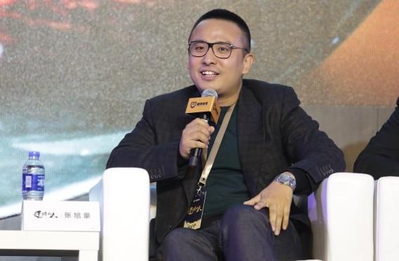 第一次参加体育论坛的张旭豪,跟我们聊了许多有趣的事情