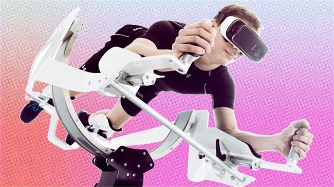 把自行车变成自由翱翔的飞马,这项VR技术将颠覆室内健身体验