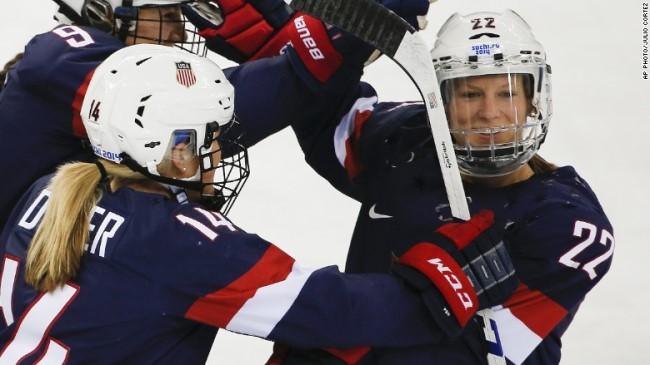 月薪2000美金,美国女子冰球队要在世锦赛静坐抗议工资低