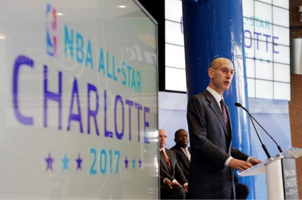 """北卡州撤销""""厕所法案"""",夏洛特获2019年NBA全明星举办资格"""