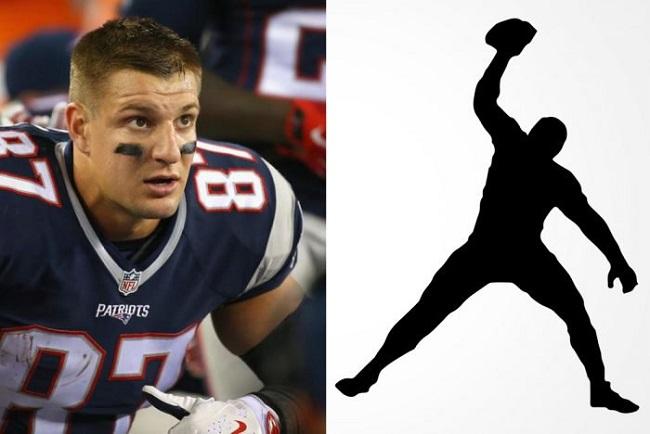 这位橄榄球明星注册了个人logo,但耐克说这logo有点太像乔丹