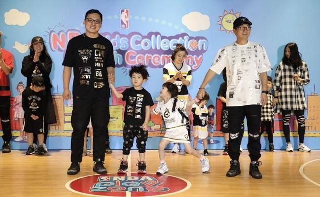儿童也新潮,NBA与MK Trend共同推出儿童潮流服饰