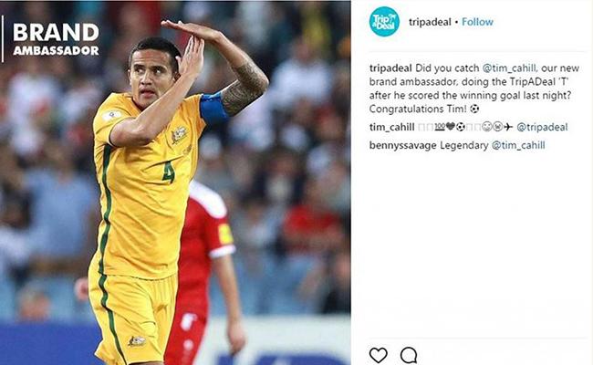 卡希尔进球庆祝动作引FIFA调查,手势会成为赞助商的新道具吗?