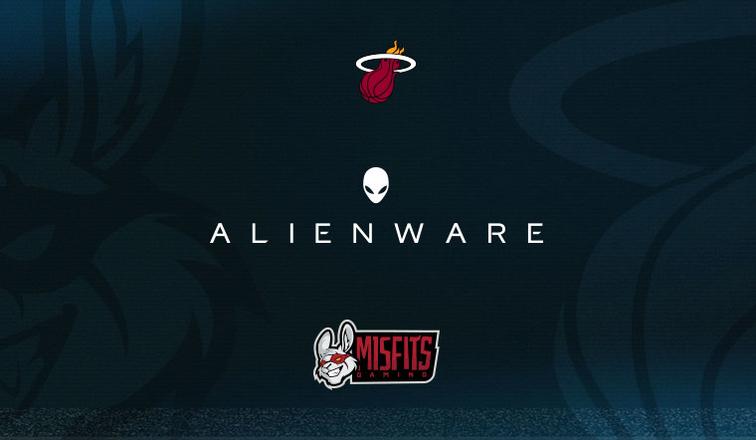 Alienware同时赞助热火和电竞MSF俱乐部,提供资金和装备支持
