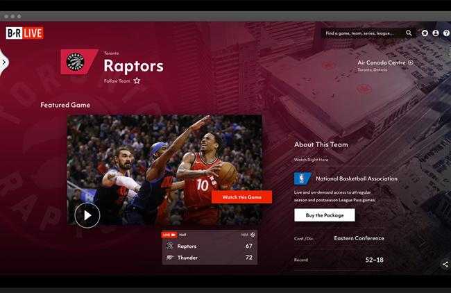"""特纳体育推出""""Bleacher Report Live""""付费服务,包括欧冠、NBA等赛事"""