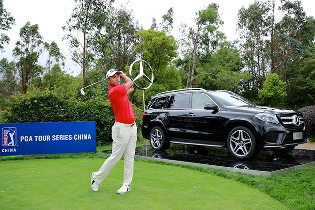 奔驰签约美巡系列赛-中国,成为官方汽车合作伙伴