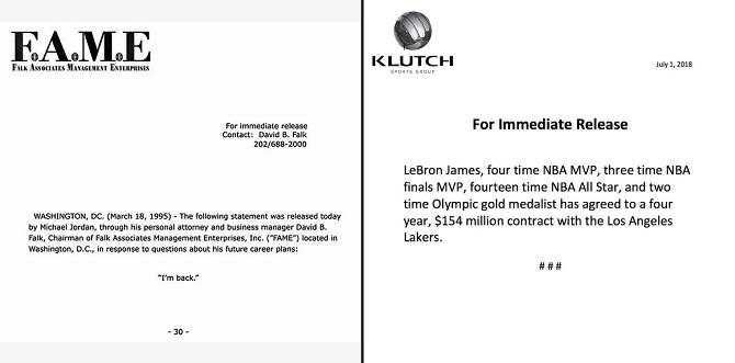 富哥专栏:詹姆斯4年1.54亿合同选择湖人,终极原因还是赶超乔丹