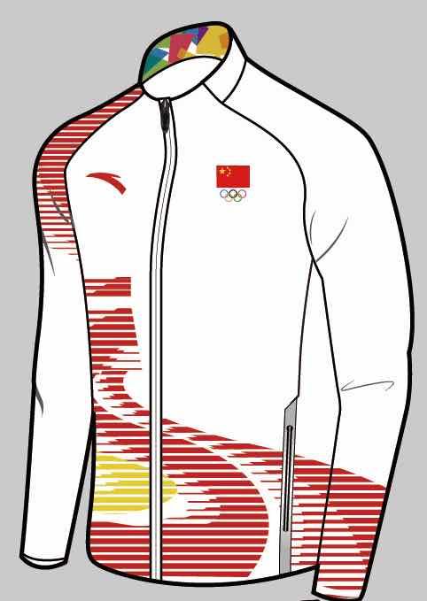 安踏发布亚运领奖服,以长城为主要设计元素