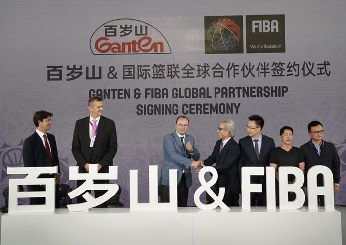 百岁山联手FIBA国际篮联,成为2019世界杯全球合作伙伴