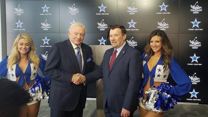 达拉斯牛仔与温斯塔世界赌场达成赞助协议,为NFL历史首次