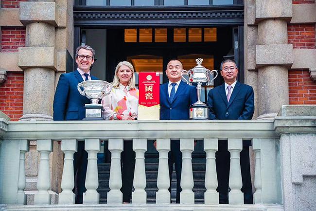 澳大利亚网球公开赛与泸州老窖达成合作,二号球场将命名为1573球场