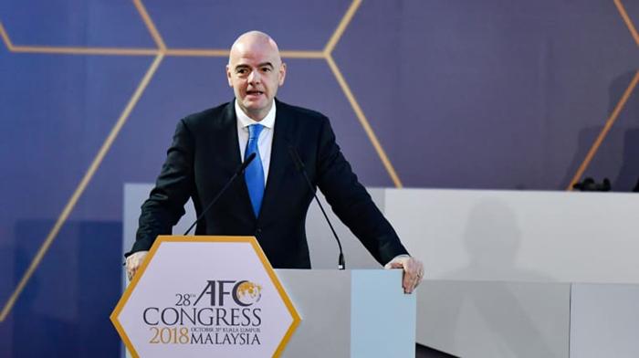 国际足联主席因凡蒂诺:在2022年世界杯就实现扩军的可能性依然存在