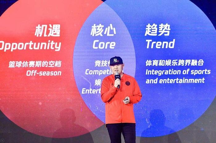 腾讯体育赛事中心总监时延奎:体育向娱乐学习能够收获成倍的效益