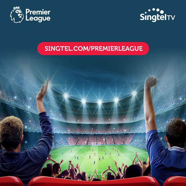 英超与新加坡电讯公司新电信续约,双方合作将延续至2021-2022赛季