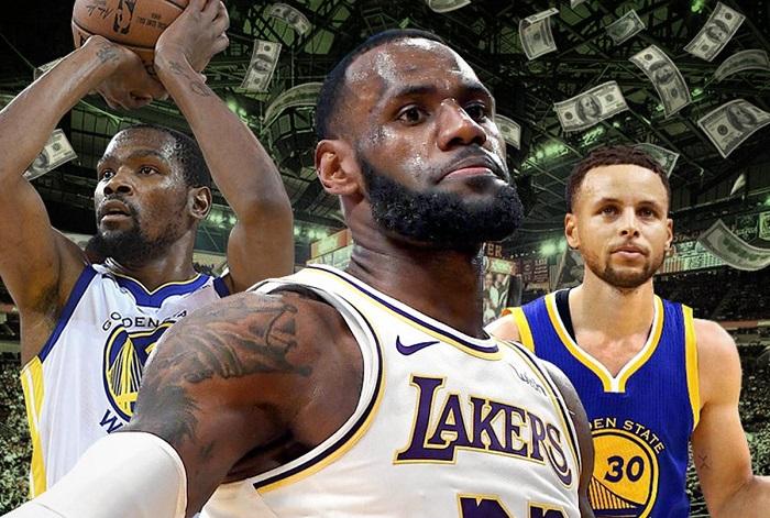 2019NBA球队估值排行榜:尼克斯40亿美元连续四年霸榜