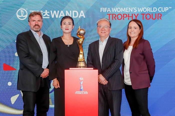 万达公布2019女足世界杯合作细节,将继续为世界杯招募护旗手