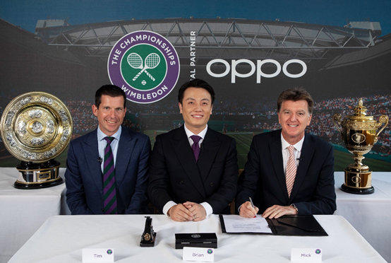 OPPO赞助温网,成为亚洲唯一官方合作伙伴