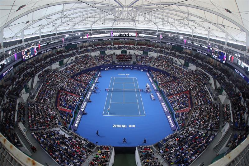 常住人口仅约160万,珠海网球赛事如何达到平均85%上座率?