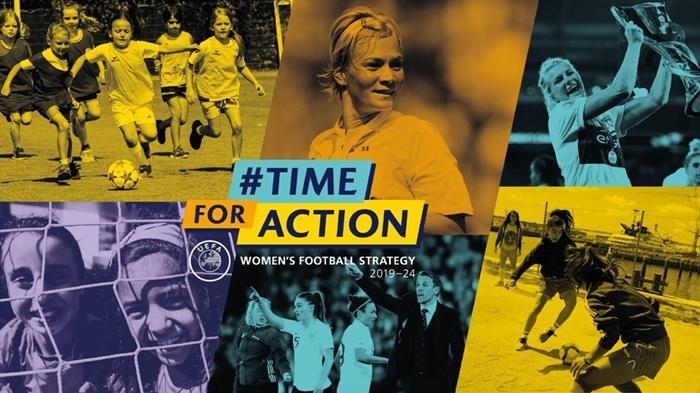 欧足联:女足球员数量到2024年要翻倍,还得提升她们的待遇