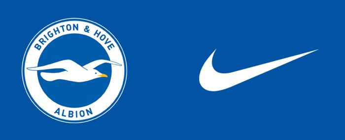 英超布莱顿与耐克续约三年,新合同将于2021-22赛季到期
