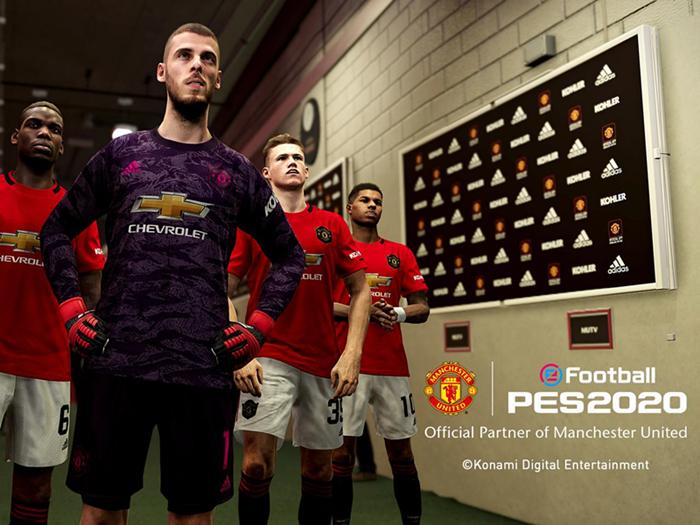 曼联与科乐美达成合作,将推出球队定制版《实况足球 2020》