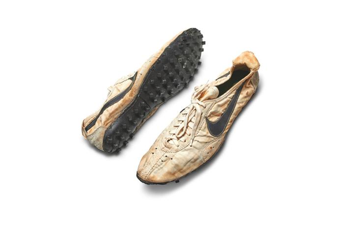 苏富比拍卖行将拍卖100双稀有运动鞋,其中一双估值已高达109万元