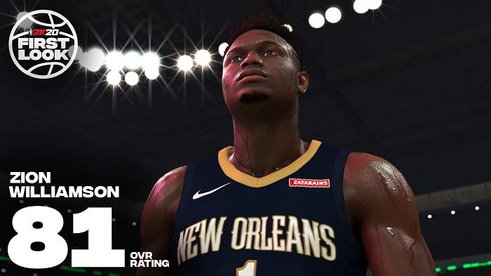 锡安与NBA 2K签下多年合约,将作为代言人全球推广该游戏