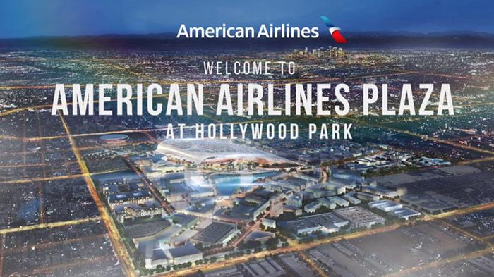 美国航空斥资9000万美元,买下洛杉矶一球场主入口的独家冠名权