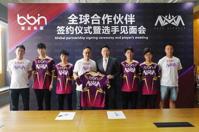 香港Nova电竞俱乐部宣布签约BBIN宝盈集团,曾夺《王者荣耀》KRKPL春季赛冠军