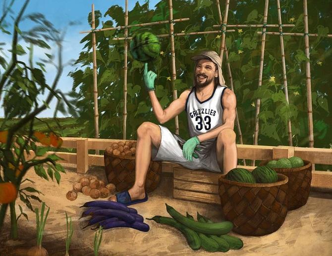 """小加索尔:全球首位获得NBA+世界杯双料冠军的""""农民"""""""