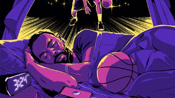 NBA球員健康的隱性殺手——睡眠不足