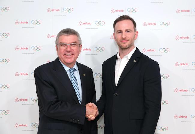 爱彼迎宣布成为国际奥委会全球合作伙伴,双方签约至2028年
