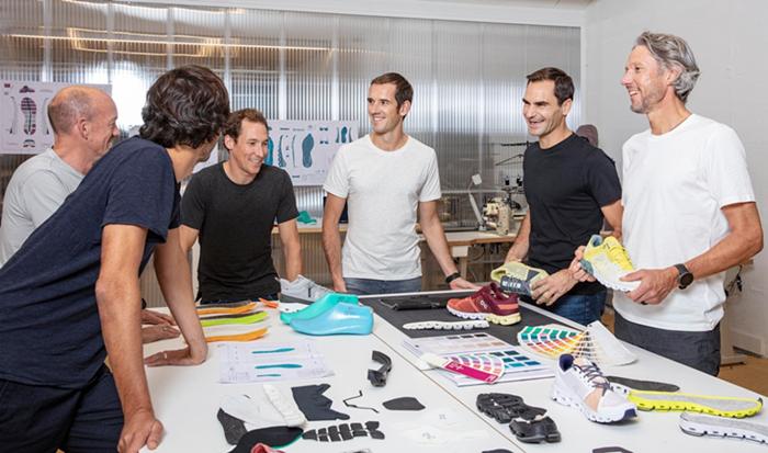 费德勒投资瑞士运动品牌On昂跑,并出任公司设计师兼形象代言人