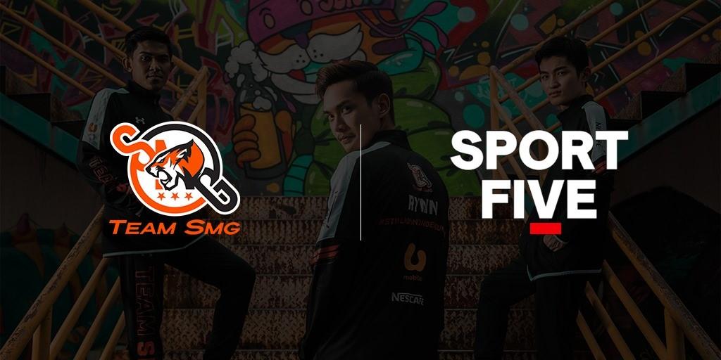 SPORTFIVE与林俊杰SMG战队合作,协助SMG战队进行商务赞助开发