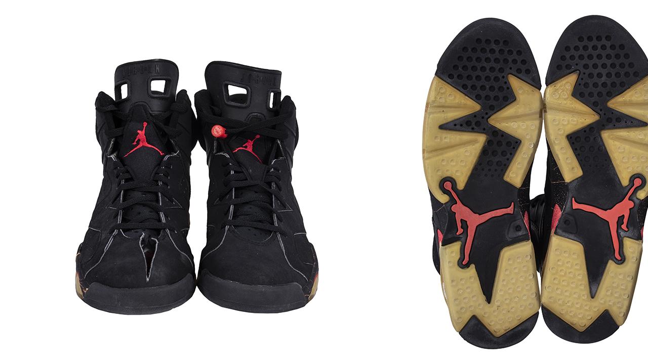 一双破洞乔丹6代能卖到75万美元?看看这双鞋都经历了什么