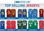 NBA官方公布球衣销量排行,库里连续第二年问鼎榜首