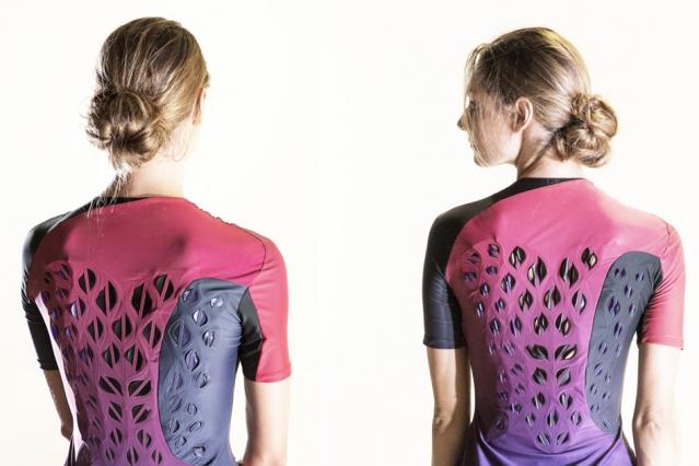 虽然可能引发密集恐惧症,但这件MIT研发的运动衣真的会呼吸