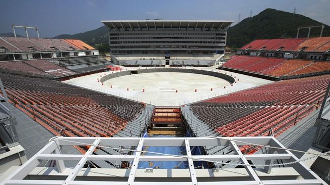 平昌冬奥主会场用完就要拆,韩国这么折腾究竟图什么?| 懒熊涨姿势