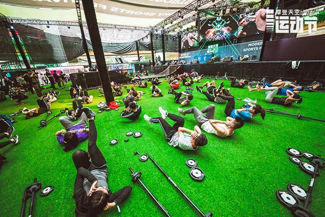 把运动节搬进商业中心的摩登天空,更希望把运动健身和音乐潮流跨界融合