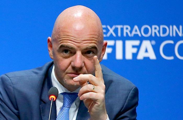 """国际足联主席因凡蒂诺:""""欧洲超级联赛""""俱乐部球员将被禁止参加世界杯"""