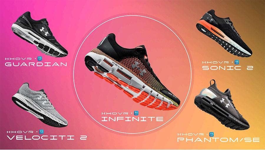 携HOVR科技来势汹汹,安德玛能否靠跑鞋挑战耐克、阿迪达斯?