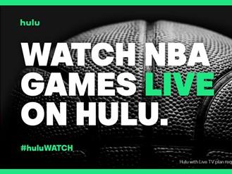 OTT直播平台Hulu喜提三位NBA全明星,新广告在全明星赛期间上线