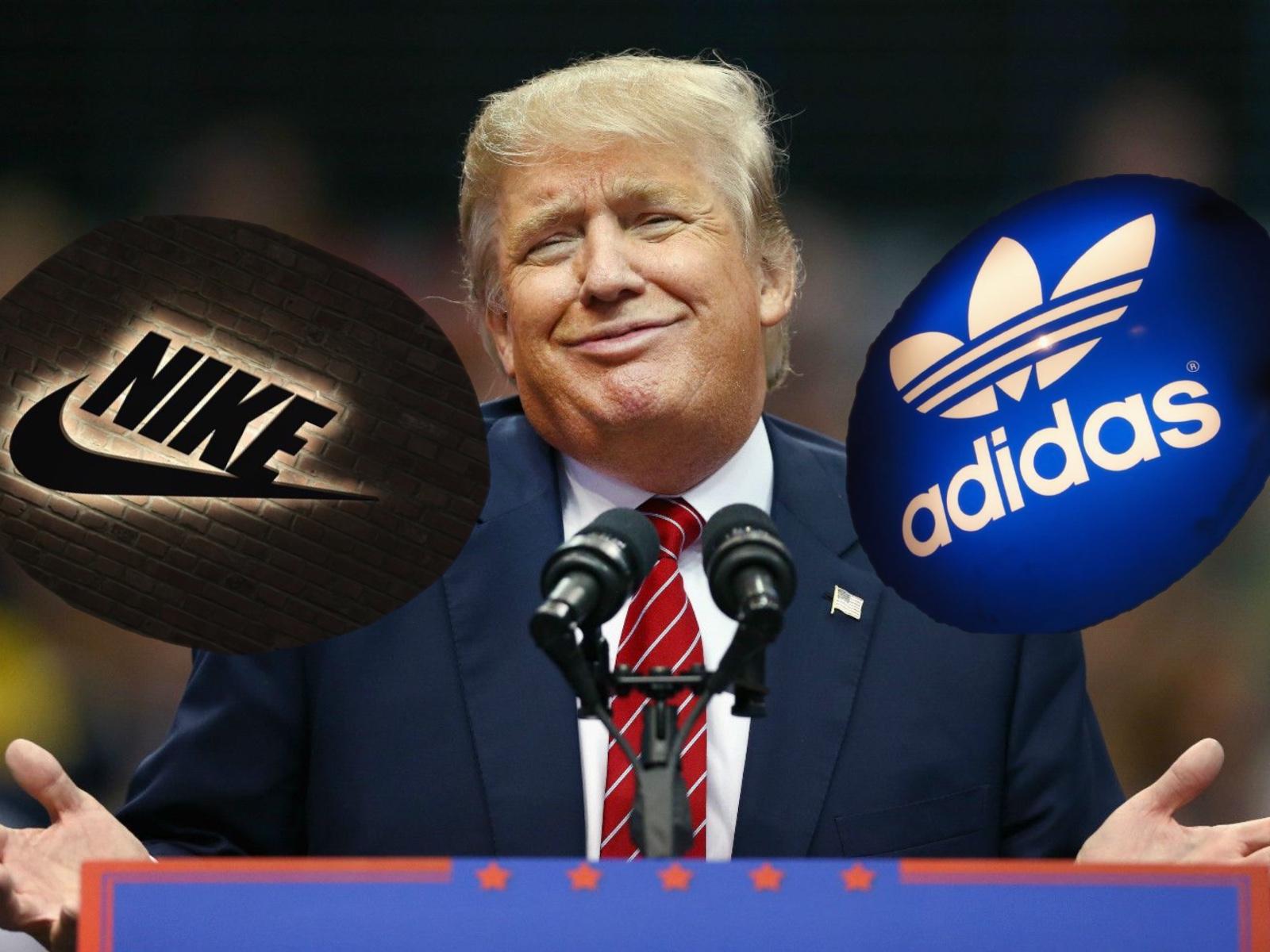 """耐克阿迪为何""""联名上书""""特朗普?483亿额外成本已在路上"""
