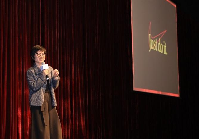 专访   耐克朱近倩:女孩放弃运动比例更高,更需要榜样的力量