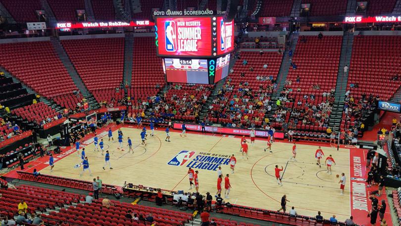 首个5G篮球馆来了,有人拿手机做了一次现场体验
