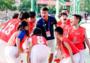 独龙少年开启世界杯圆梦之旅,为中国男篮首战呐喊助威